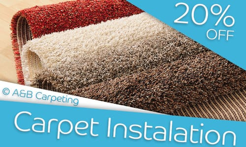 A and B Carpeting - Carpet Installation Discount