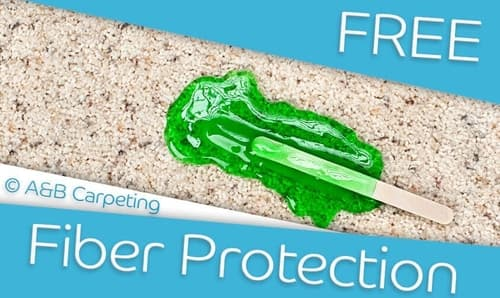 A and B Carpeting - Free Fiber Protection with All Cleaning