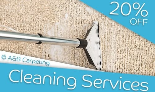 A and B Carpeting - carpet cleaning discount